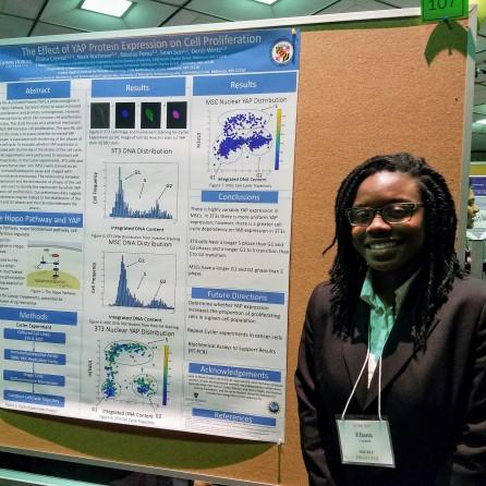 Eliana Crensil UMBC Chemical Engineeing BS 2020