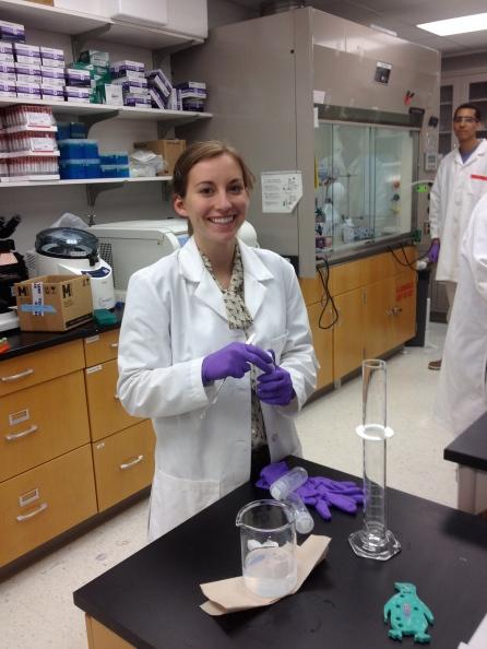 Alexandra (Allie) Kolberg BME Undergraduate Researcher, Case Western Reserve University