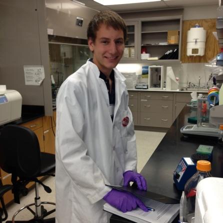 Nicholas (NIck) Schindler BME Undergraduate Researcher