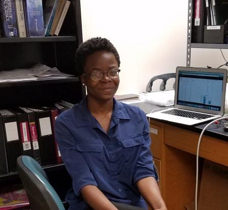 Chimdiya Onwukwe, Research Assistant, Meyerhoff Scholar, MARC scholar, Biological Sciences S.B. expected 2018