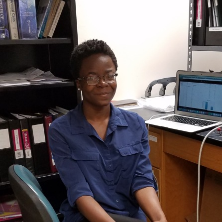 Chimdiya Onwukwe, Research Assistant, Meyerhoff Scholar, MARC scholar, Biological Sciences S.B. expected 2018